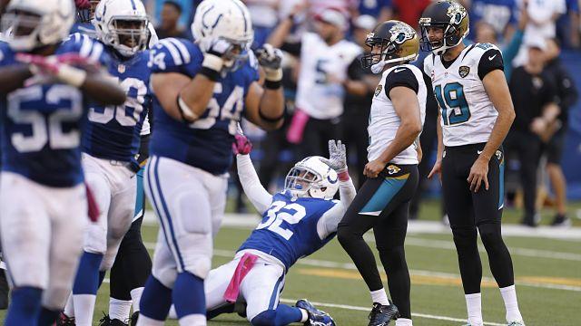 Jacksonville Jaguars kicker Jason Myers