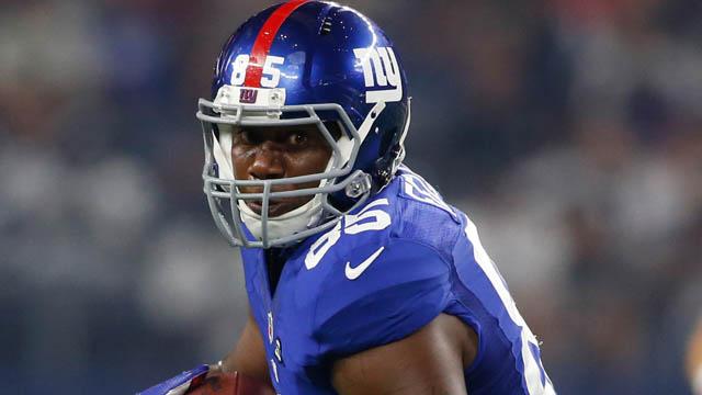 Giants tight end Daniel Fells