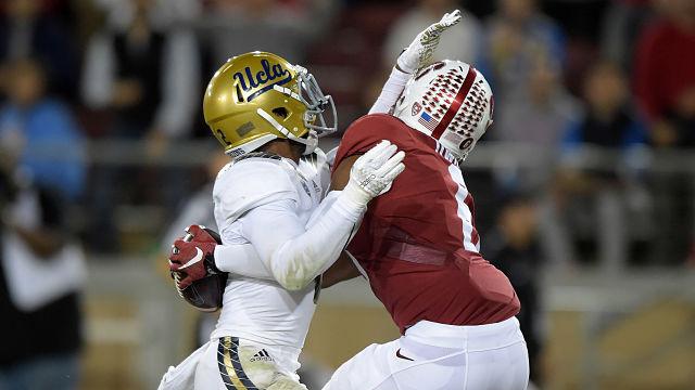 Stanford wide receiver Francis Owusu