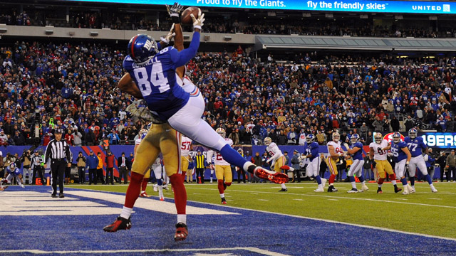 Giants tight end Larry Donnell