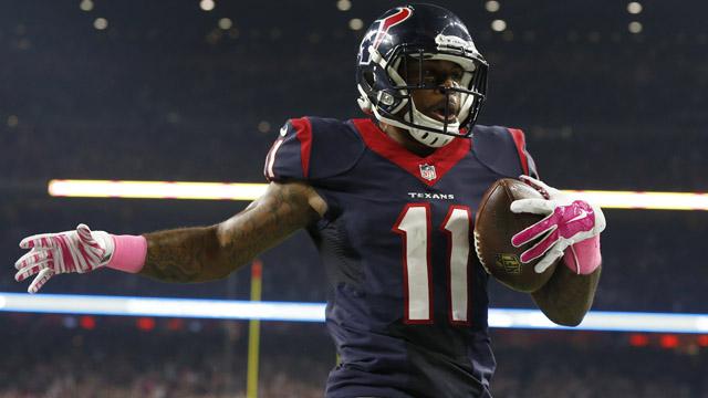 Houston Texans receiver Jaelen Strong
