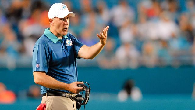 Miami Dolphins head coach Joe Philbin
