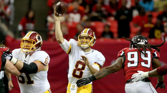 Washington Redskins quarterback Kirk Cousins