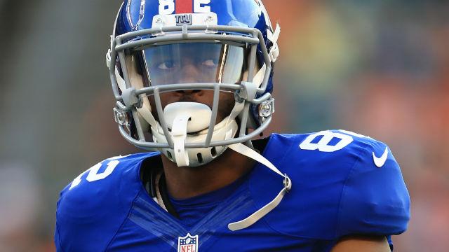 New York Giants wide receiver Rueben Randle