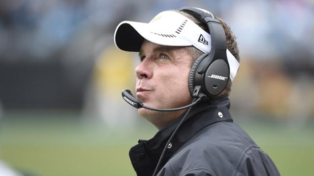 New Orleans Saints head coach Sean Payton