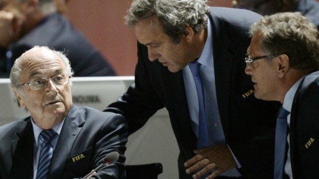 Sepp Blatter, Michel Platini, Jerome Valcke suspended by FIFA