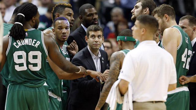 Celtics head coach Brad Stevens