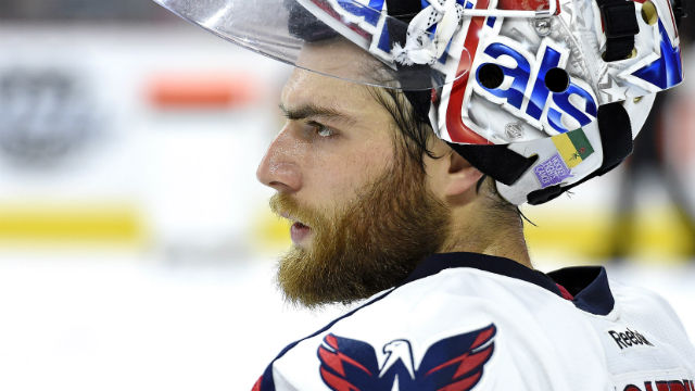 Washington Capitals goalie Braden Holtby