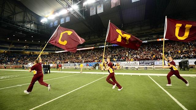 Central Michigan Cheerleaders