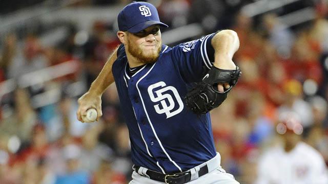 San Diego Padres relief pitcher Craig Kimbrel