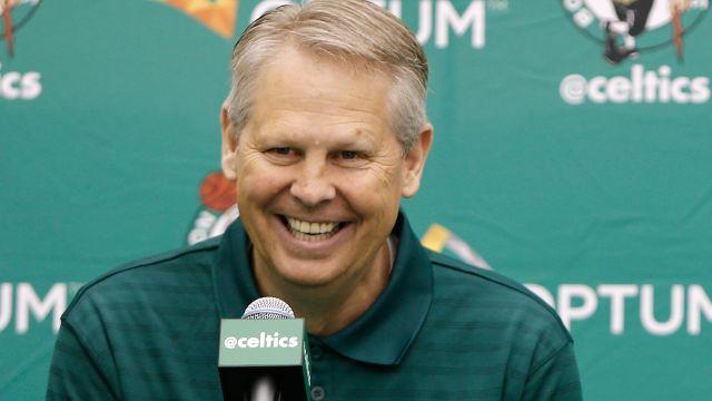 Celtics general manager Danny Ainge