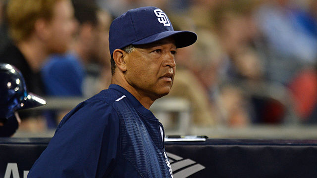 San Diego Padres bench coach Dave Roberts
