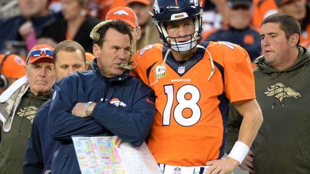 Kubiak says he shouldn't have started Peyton manning