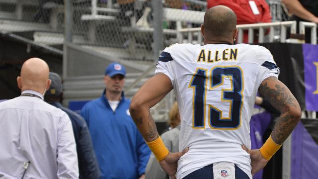 San Diego Chargers wide receiver Keenan Allen