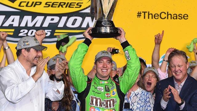Kyle Busch wins Sprint Cup