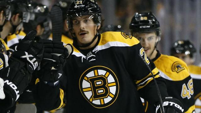 Boston Bruins right wing Loui Eriksson
