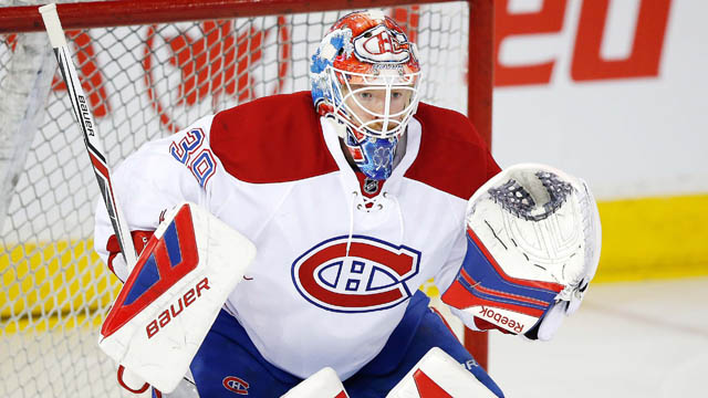 Montreal Canadiens goaltender Mike Condon