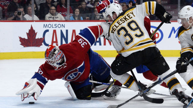 Montreal Canadiens goalie Mike Condon