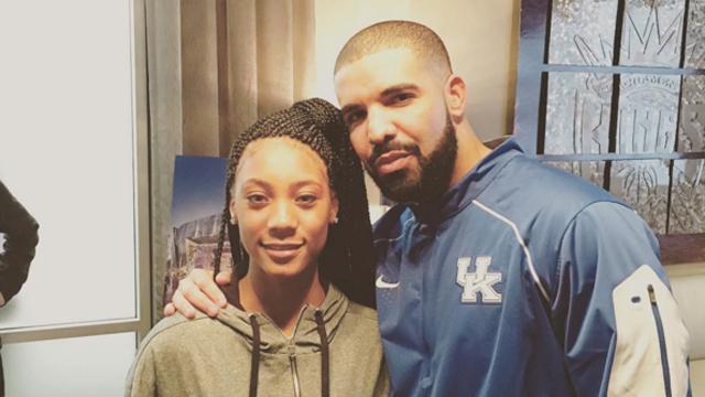 Mo'ne Davis, Drake