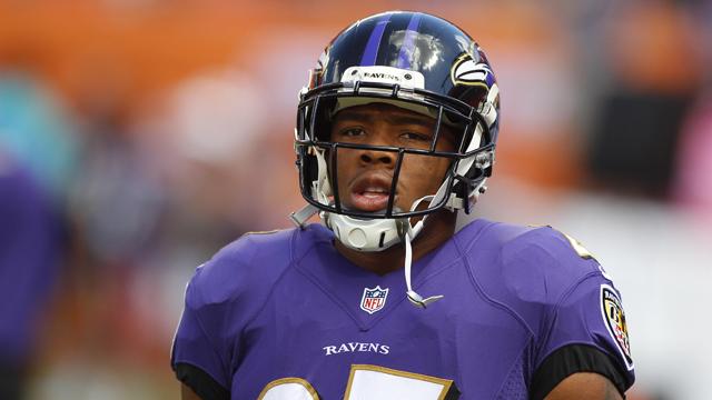 former Baltimore Ravens running back Ray Rice