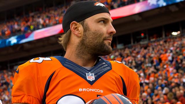 Broncos wide receiver Wes Welker