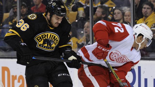 Boston Bruins center Zac Rinaldo