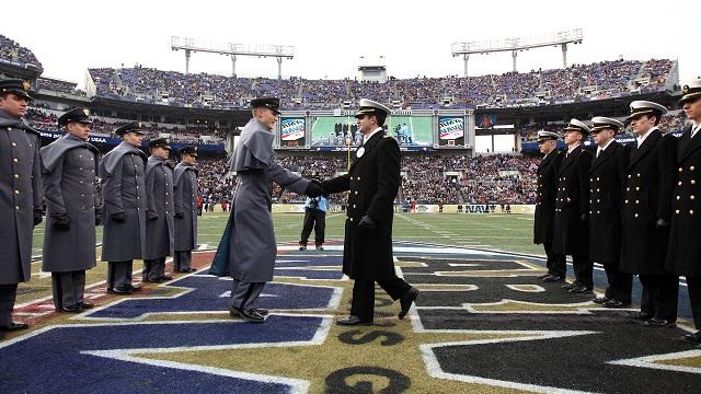 Army vs. Navy football