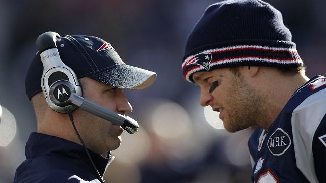 New England Patriots offensive coordinator Bill O'Brien