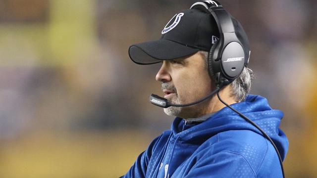 Colts coach Chuck Pagano