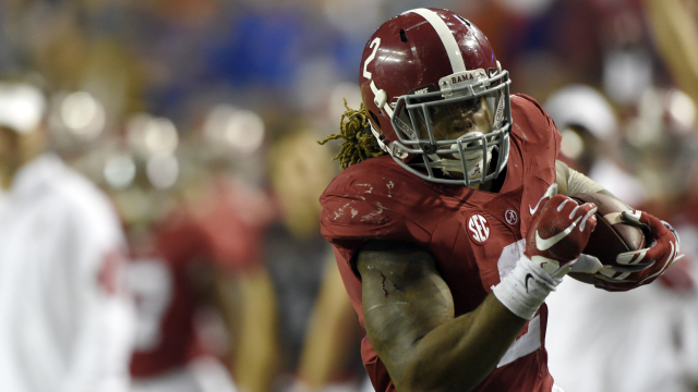 Alabama running back Derrick Henry