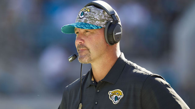 Jacksonville Jaguars head coach Gus Bradley