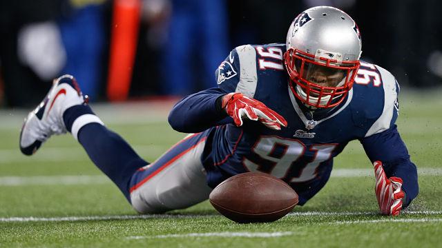 New England Patriots linebacker Jamie Collins
