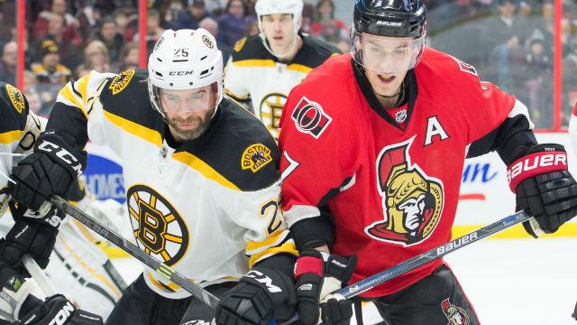 Boston Bruins center Max Talbot