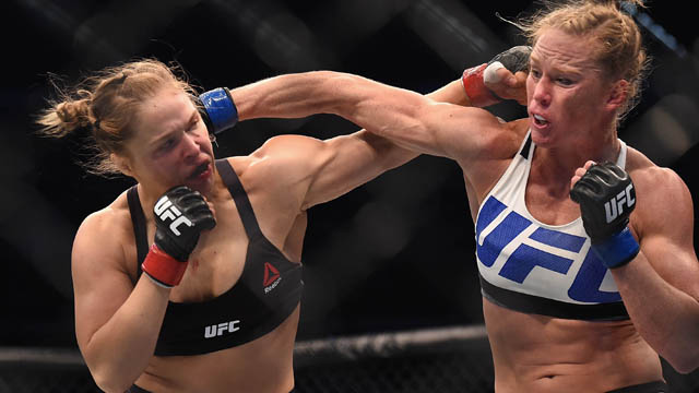 UFC's Ronda Rousey and Holly Holm