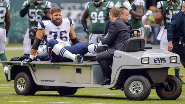 New England Patriots offensive tackle Sebastian Vollmer