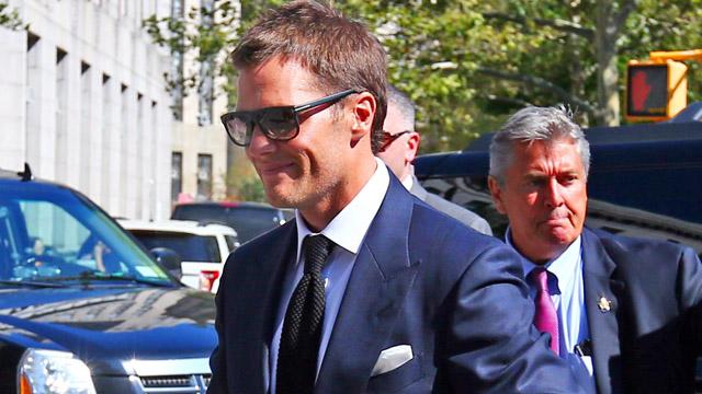 New England Patriots quarterback Tom Brady