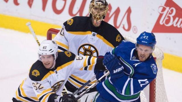 Boston Bruins defenseman Zach Trotman