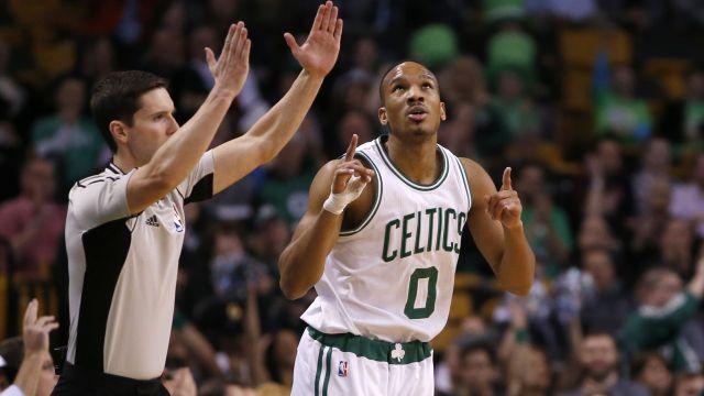 Celtics guard Avery Bradley