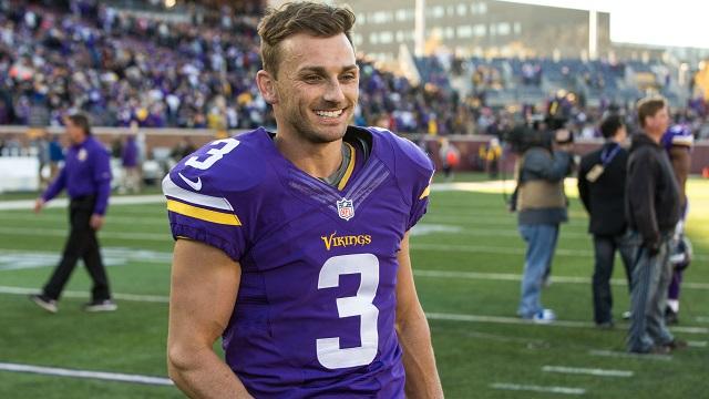 Minnesota Vikings kicker Blair Walsh