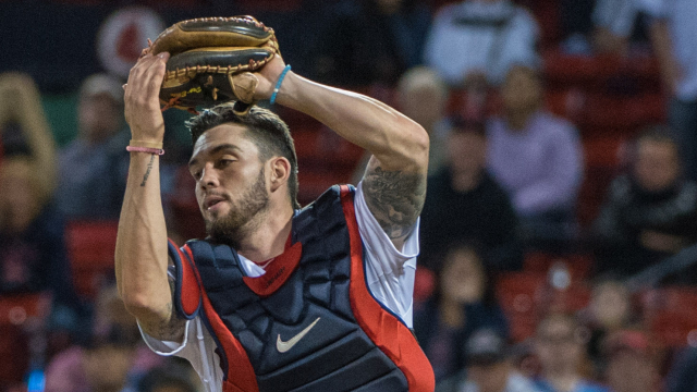 Boston Red Sox catcher Blake Swihart