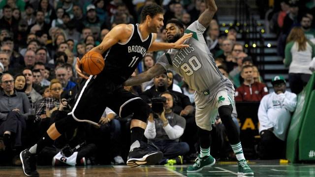 Nets forward Brook Lopez