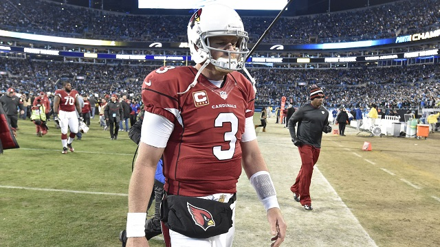 Arizona Cardinals quarterback Carson Palmer