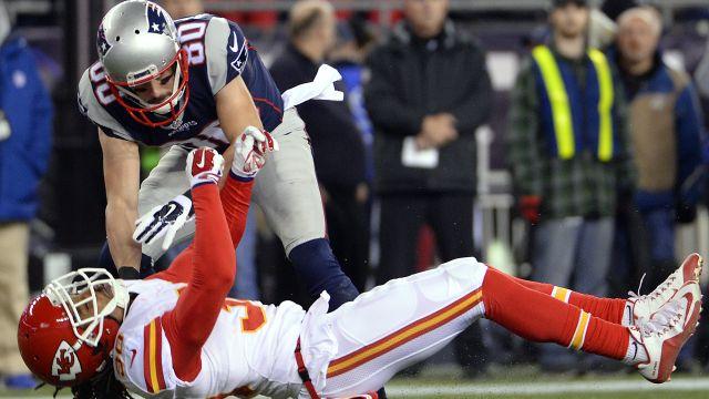 Patriots wide receiver Danny Amendola