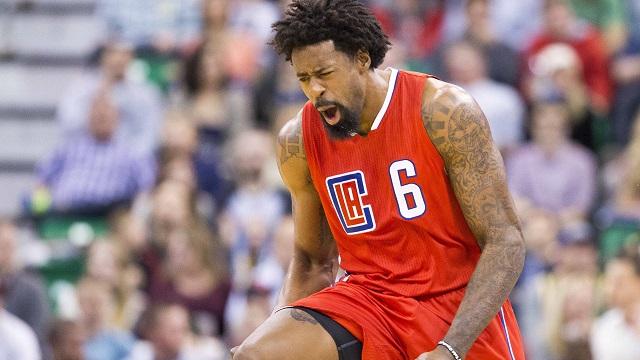 Clippers forward DeAndre Jordan