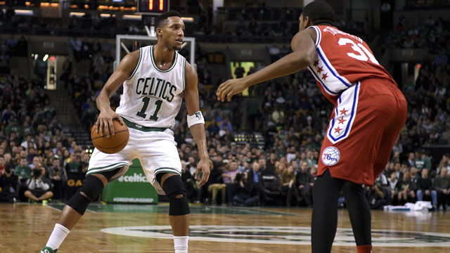 Celtics guard Evan Turner
