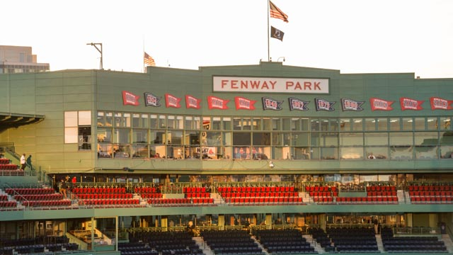 A general view of Fenway Park