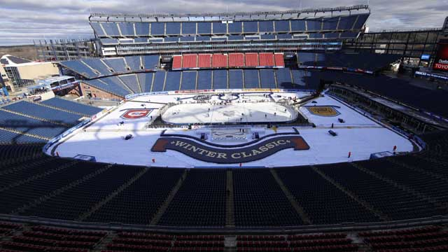 Gillette Stadium ready for NHL Winter Classic