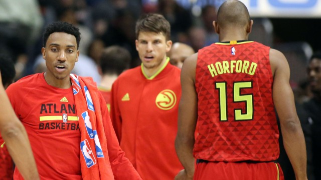 Jeff Teague and Al Horford