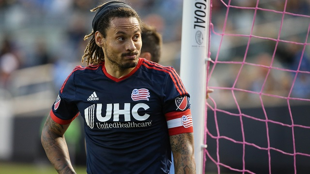 New England Revolution midfielder Jermaine Jones