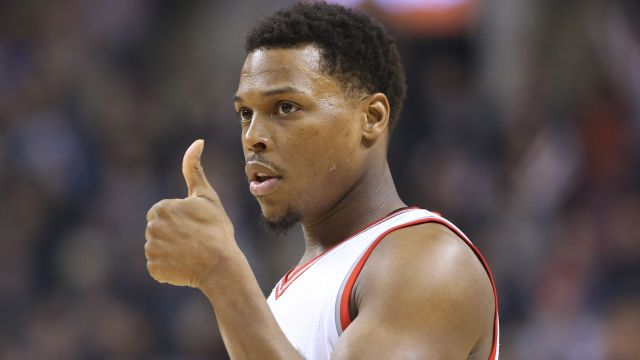 Raptors point guard Kyle Lowry